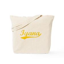 Vintage Iyana (Orange) Tote Bag
