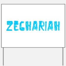 Zechariah Faded (Blue) Yard Sign