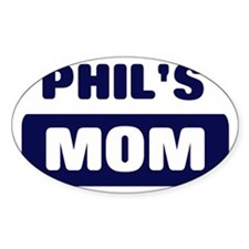 PHIL Mom Oval Decal