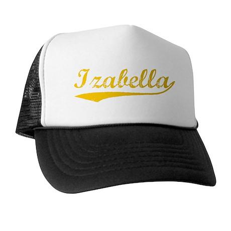 Vintage Izabella (Orange) Trucker Hat