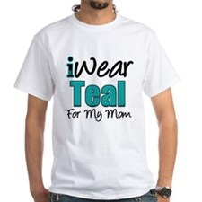 I Wear Teal For My Mom Shirt