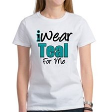 I Wear Teal For Me v1 Tee