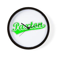 Retro Paxton (Green) Wall Clock