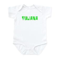 Yuliana Faded (Green) Infant Bodysuit