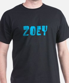 Zoey Faded (Blue) T-Shirt