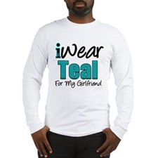 I Wear Teal Girlfriend v1 Long Sleeve T-Shirt