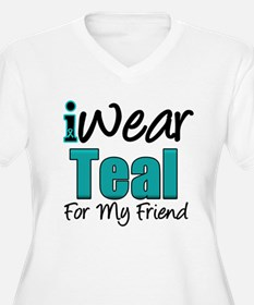 I Wear Teal Friend v1 T-Shirt