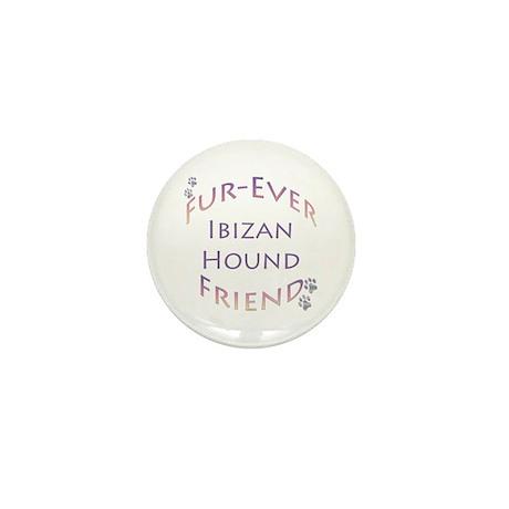 Ibizan Furever Mini Button (100 pack)