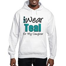 I Wear Teal Daughter Hoodie