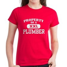 Property of a Plumber Tee