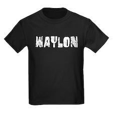 Waylon Faded (Silver) T