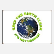 Keep the Earth Clean Banner