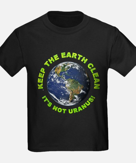 Keep the Earth Clean (Front) T