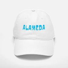 Alameda Faded (Blue) Baseball Baseball Cap