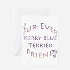 Kerry Blue Furever Greeting Card