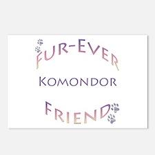 Komondor Furever Postcards (Package of 8)
