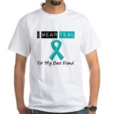 I Wear Teal Best Friend Shirt