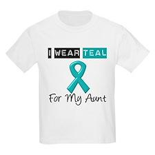 I Wear Teal Aunt v2 T-Shirt
