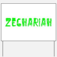 Zechariah Faded (Green) Yard Sign
