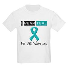 I Wear Teal Warriors v2 T-Shirt