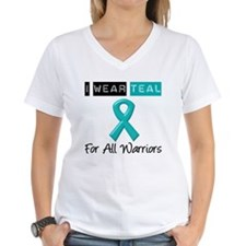 I Wear Teal Warriors v2 Shirt