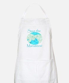 Save the Manatees BBQ Apron