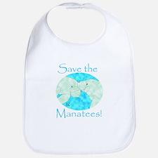 Save the Manatees Bib