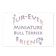 Mini Bull Furever Postcards (Package of 8)