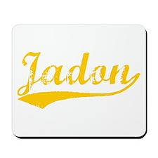 Vintage Jadon (Orange) Mousepad