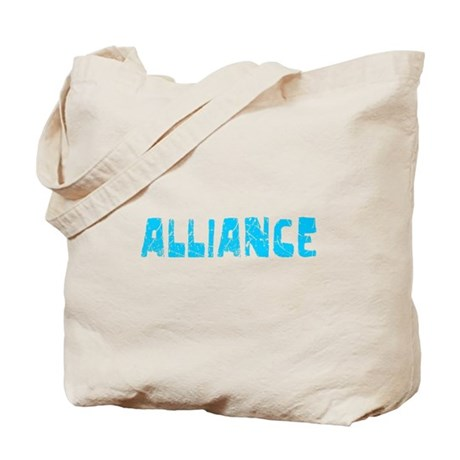 Alliance Faded (Blue) Tote Bag