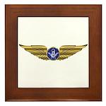 The Flying Masons Wings Framed Tile