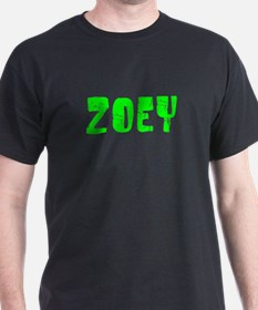 Zoey Faded (Green) T-Shirt