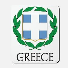 Greece Coat of Arms Mousepad