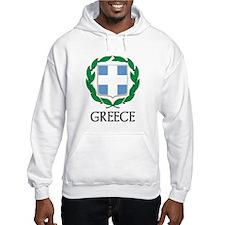 Greece Coat of Arms Hoodie