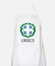 Greece Coat of Arms BBQ Apron