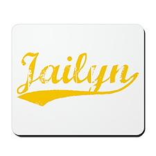 Vintage Jailyn (Orange) Mousepad