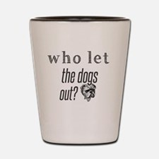 Funny Who Shot Glass