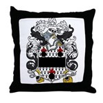 Cartwright Family Crest Throw Pillow