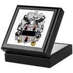 Cartwright Family Crest Keepsake Box