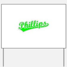 Retro Phillips (Green) Yard Sign