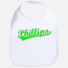 Retro Phillips (Green) Bib