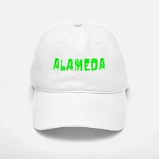 Alameda Faded (Green) Baseball Baseball Cap