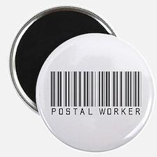 Postal Worker Barcode Magnet