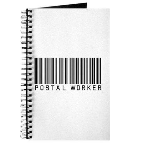 Postal Worker Barcode Journal