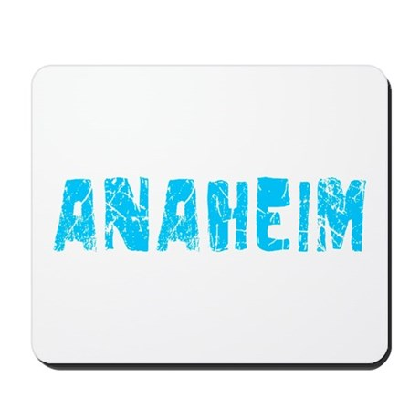 Anaheim Faded (Blue) Mousepad