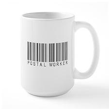 Postal Worker Barcode Mug