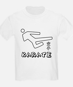 Karate Stick-Man IV T-Shirt