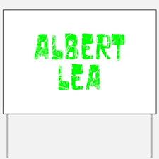 Albert Lea Faded (Green) Yard Sign