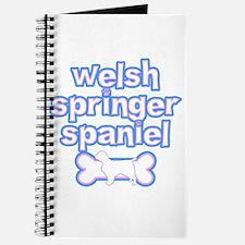 Powderpuff Welsh Springer Spaniel Journal