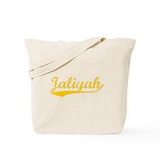 Vintage Jaliyah (Orange) Tote Bag
